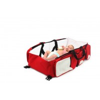 3 in 1 Baby Bag - Red