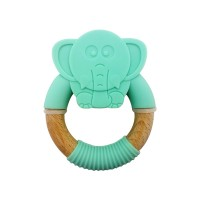 Beechwood Teething Ring – ELEPHANT