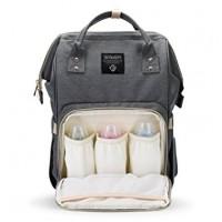Backpack Nappy bag - Grey
