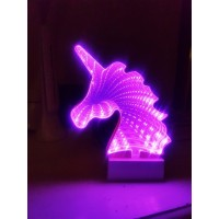 3D LED Tunnel Light – UNICORN