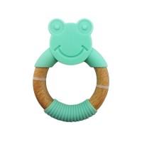 Beechwood Teething Ring – FROGGY