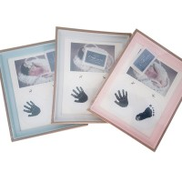 Baby Photo Hand and Foot Print Frame – ASSORTED COLOURS