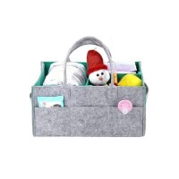 Felt Nappy Organiser – GREY