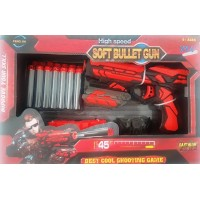 Red Soft Bullet Toy Gun – MEDIUM