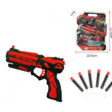Red Soft Bullet Toy Gun – SMALL
