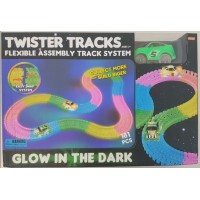 Twister Tracks 181pc +1 car