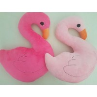 Flamingo Pillow - Assorted Colours