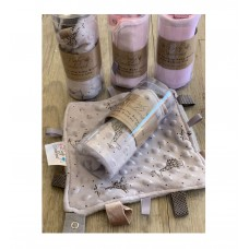 Taglet Blankie with Dummy Clip - Assorted Colours BUY 2 GET 1 FREE
