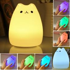 Colourful Animal Silicone Night Light