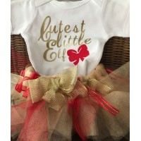 Cutest Little Elf Tutu Set