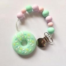 Doughnut  Teether - Mint