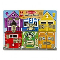 Melissa & Doug – Wooden Latches Board