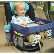 Play 'n Snack Travel Tray – NAVY