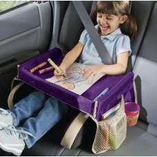 Play 'n Snack Travel Tray – PURPLE