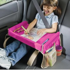 Play 'n Snack Travel Tray – PINK
