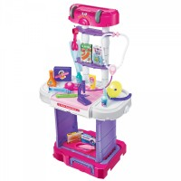 Pull-Along Doctor Trolley Set