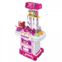 Pull-Along Kitchen Trolley Set