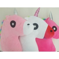 Unicorn Pillow – ASSORTED COLOURS