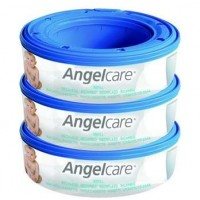Angelcare Nappy bin Refill - 3 Pack
