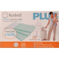 Korbell - 3 Pack Refill - Plus