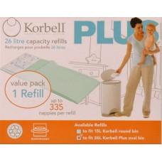 Korbell - Single Pack Refill - Plus