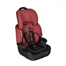 Aries Car Seat - Black/Maroon