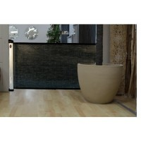 Chelino Retractable Door Gate Black 110cm