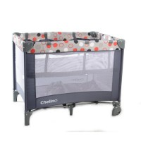 Lilo - Red/Grey Dots - Camp Cot