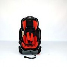 Aries Car Seat - Red/Black