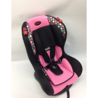 Veyron Deluxe Black/Pink - Car Seat 0-25kg