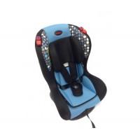 Veyron Deluxe Black/Blue - Car Seat 0-25kg