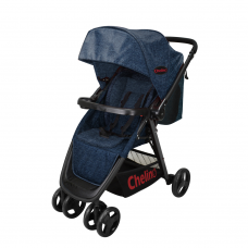 Cross Over Pram/Stroller - Blue