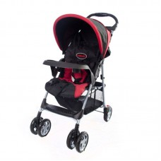 Lazer Stroller - Red/Black - 4 Wheel