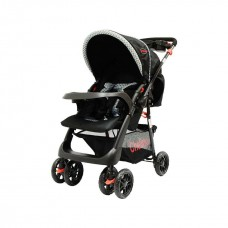 Tazz Stroller - Black with Reversable Handles
