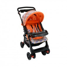 Tazz Stroller - Orange with Reversable Handles