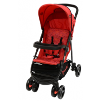 Quadro 4 Wheeler Red Circle - Stroller