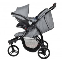 Rocky Travel System - Grey