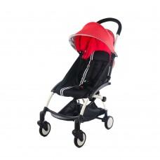Zip Pram/Stroller - Red