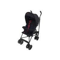 Clio 2 Position Buggy - Black/Red
