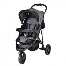 Rocky Grey/Black - 3 Wheel Stroller