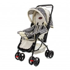 Star Stroller Black/Cream Check