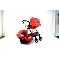 Galaxy Travel system - Red