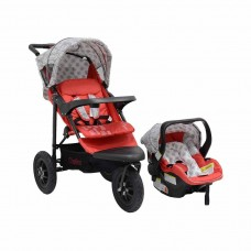JTS Urban Detour - Red Leaf - Travel System with Car Seat