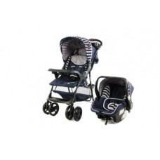 Matrix Navy - Travel System with Car Seat