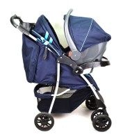 Mustang Navy - Travel System with Car Seat