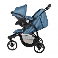 Rocky Travel System - Blue/Teal