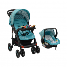 Tech Rider Travel System Blue