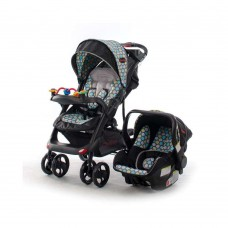 Tech Rider 3 Honeycomb - Travel System with Car Seat