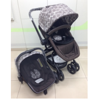 Twister Brown Toten - Travel System with Car Seat