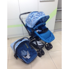 Twister Blue Toten - Travel System with Car Seat